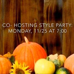 Style Staples Party: Monday, 11/25 at 7:00 PM PST